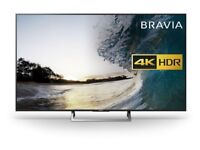 Sony Bravia KD65XD7505 65 Inch Android 4K HDR Ultra HD Smart LED TV Freeview HD Black Energy Class A