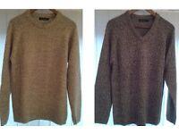 James Pringle Brand Sweaters (2-off), Medium