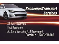 Recovery/Transport Services