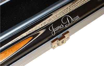 SNOOKER CUE OR POOL CUE PERSONALISED NAME GREAT BIRTHDAY GIFT