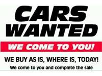 WANTED SCRAP CARS VANS 4X4 BEST PRICES PAID WEST YORKSHIRE