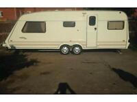 Fleetwood 5 berth twin axle caravan. High spec!