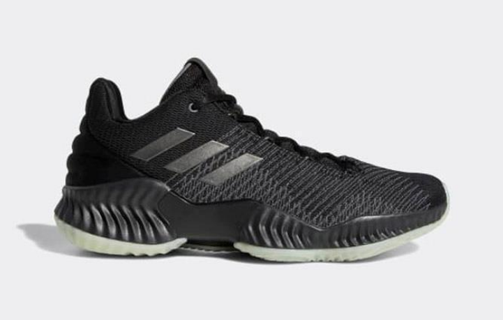 competitive price 0f15b dcd03 New adidas PRO BOUNCE 2018 LOW Men's Glow In The Dark Shoes B41864 Black  Mamba