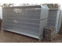 🔩 •New• Heras Style Temporary Metal Fence Panels > Site Security