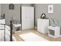 Panama 4pc bedroom set white