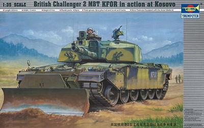 Trumpeter 9360345 Britischer Kampfpanzer Challenger 2 KFOR 1:35 Modellbausatz