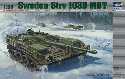 Trumpeter 9360309 Schwedisch Kampfpanzer Stridsvagn Strv 103B 1:35 Modellbausatz