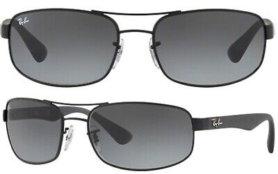 Ray-Ban Herren Sonnenbrillen RB3445 006/11 61mm schwarz klassisch F A4