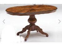 Solid italian inlay table
