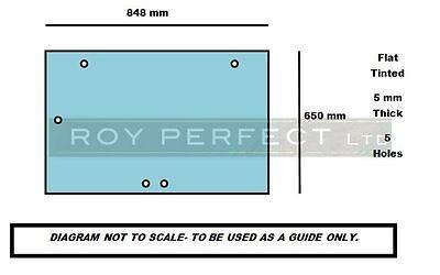 Case All XL (Pre 4200 Series) Rear Glass