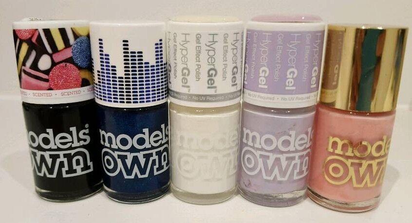 MODELS OWN nail polish/varnish bundle- 5 FULL bottles