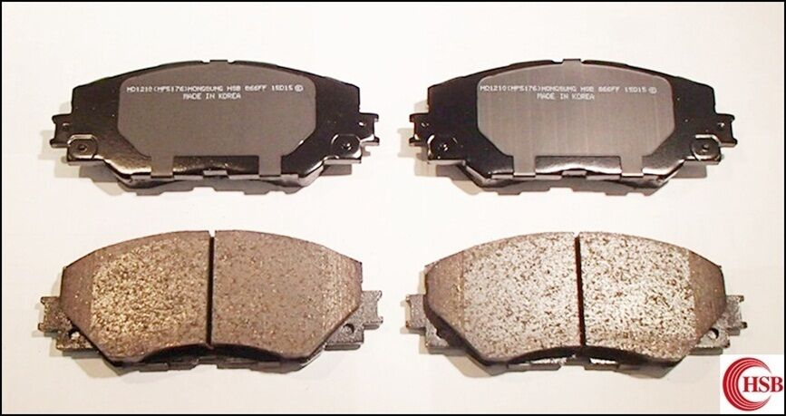 HSB Front and Rear Ceramic Brake Pads HD1521 /& HD1088