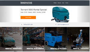 Ontario's Largest Fleet of  Rental Sweepers and Scrubbers