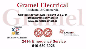 Gramel Electrical----Serving your electrical needs London Ontario image 1