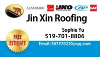 Jin Xin Roofing Free Estimate & replace whole roof