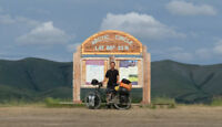 Ride from Dawson to Whitehorse