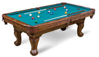 Pool Table Installation and Service