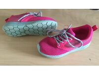 Pink trainers -Size 10