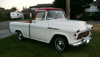 56 Chevy Cameo Pickup, a driver that needs restoation or  ???