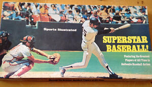 SUPERSTAR BASEBALL 1974 SPORTS ILLUSTRATED BOARD GAME GIANTS BOX