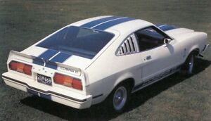 1977 mustang hatch back