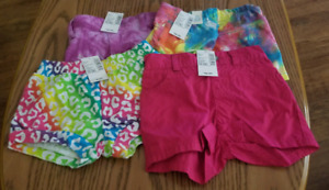 (SOLD PPU) NWT - 4 Pairs of Shorts - 12 to 18M - TCP