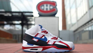 Montreal canadiens nike shoes souliers Bo Jackson