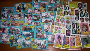 54 pee wee's playhouse trading cards 1988 Topps