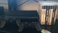 Playstation3 - 500GB + 2 joysticks + Videogames + HDMI Cable