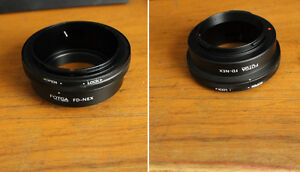ADAPTATEUR / Adapter : Canon FD to SONY NEX E Mount *NEW/NEUF*