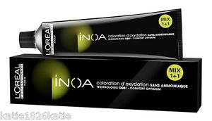 LOREAL INOA NEW STYLE HAIR COLOR 60ml INNOVATION NO AMONIA 6TH LISTING