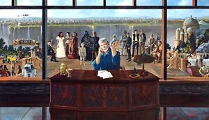 """George Lucas in """"The Force of Inspiration""""signed by George Lucas"""