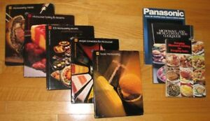 8 RECIPE BOOKS ... ¨MICROWAVE COOKING MADE EASY¨