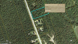 Over 1 acre on Stymiest Rd.