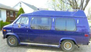 1988 Chevrolet G20 Van Minivan, Van