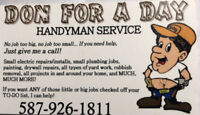 Handyman specializing in your needs