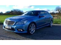 Mercedes-Benz E350 3.0CDI ( 265bhp Blue F auto SPORT SAT NAV COMMAND CDI 2011