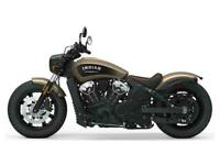 2019 Indian Scout Bobber.....Bronze/black.....In stock