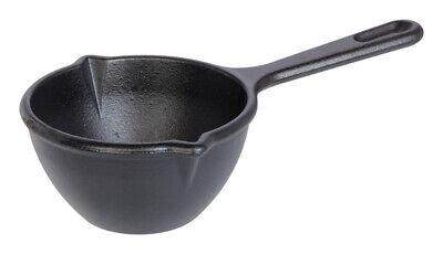 Lodge  Logic  Cast Iron  Pot  5 in. 15 ounces  Black