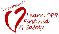 Emergency or OHS Standard First Aid/CPR/AED Courses
