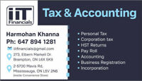TAX ACCOUNTING & PAYROLL