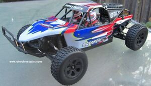 New RC Truck Baja Style Electric 4WD 2.4G RTR 1/10 Scale
