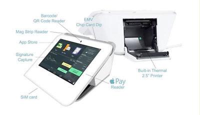 Clover Mini Pos Apple Pay Emv Printer Credit Card Machine