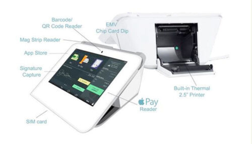 Clover Mini POS Apple Pay, EMV, Printer, Credit Card Machine