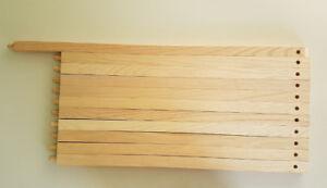 Barreaux en chêne pour l'escalier (modèle difficile à trouver)