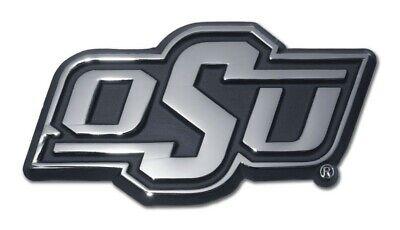 Oklahoma State Cowboys Chrome Plastic 3D Decal NCAA Team Auto Truck Car Emblem