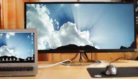 "LG IPS 29EA93 21:9 29"" ULTRAWIDE Cinema LCD Monitor, built-in Speakers LED Apple"