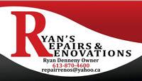 Ryan's Repairs & Renovations