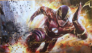 "Grant Gustin - The Flash - signed autograph print 9"" x 16 3/4"""