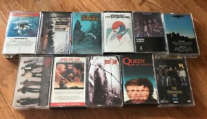 80's 90's Hard Rock Metal Cassette Tapes Lot $3 and up per